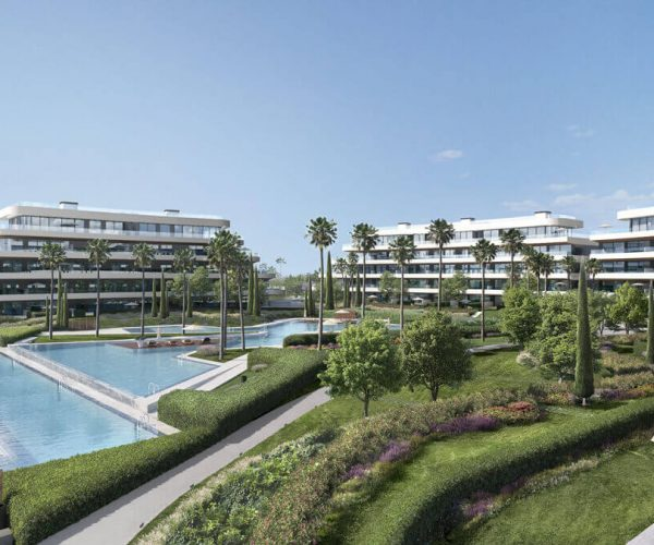 Bright and spacious apartments in an unbeatable location near Malaga and airport