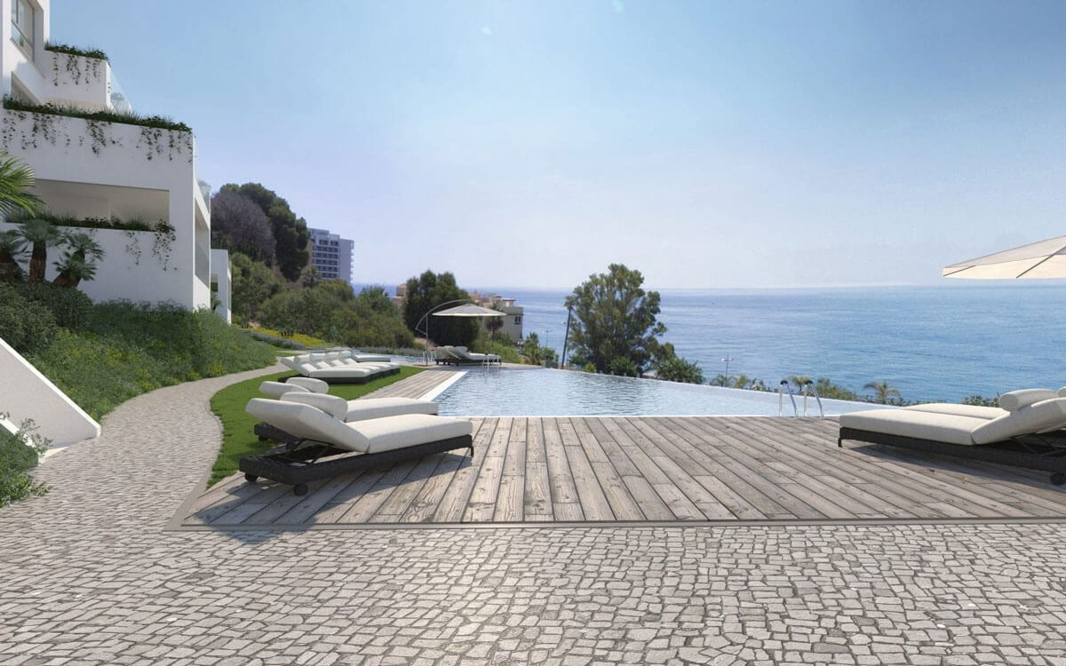 Cutting-edge design with sea views