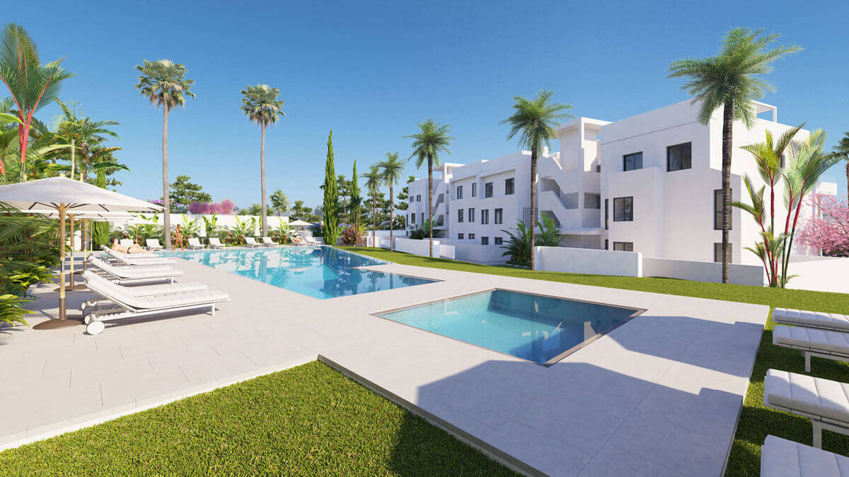 Stylish apartments, just walking distance from the sea in Malaga